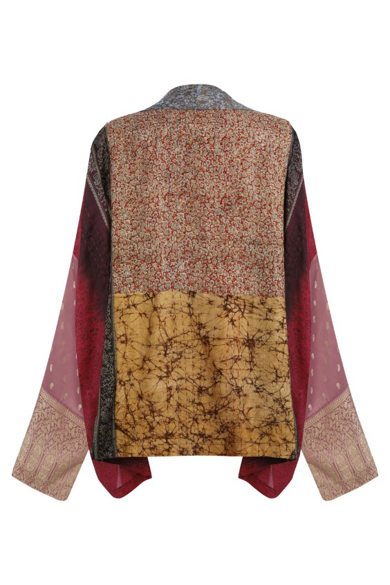Limited Edition Patchwork Silk Kimono